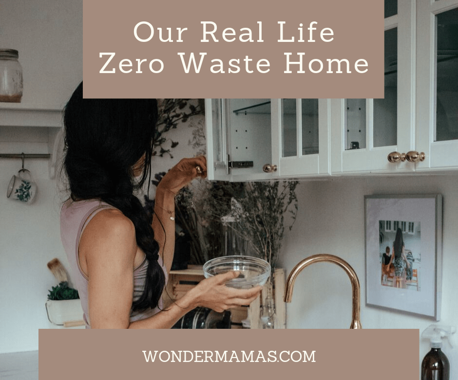 Our real life zero waste home