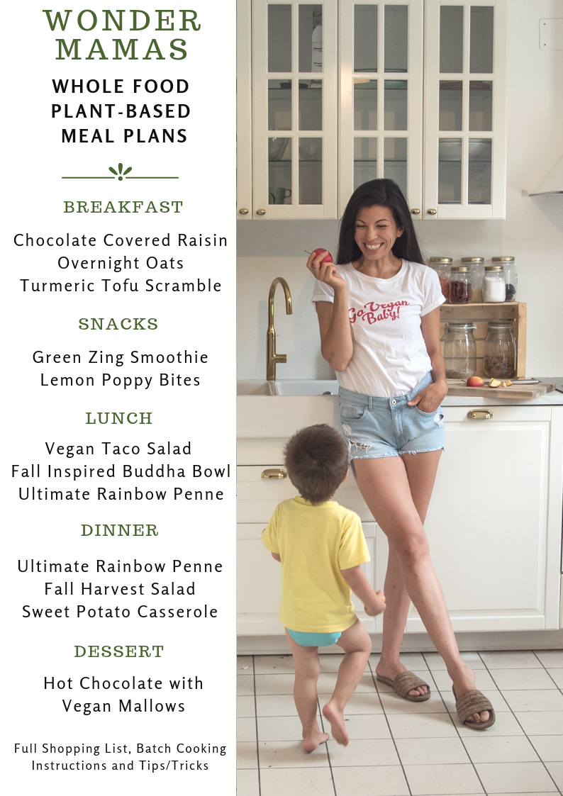 Whole Food Plant Based Meal Plan