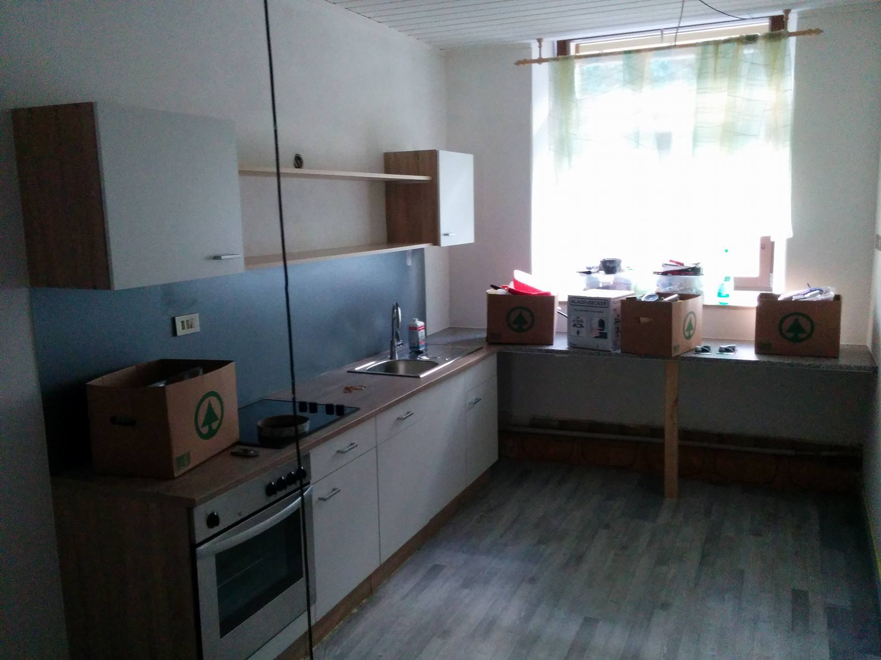the old kitchen