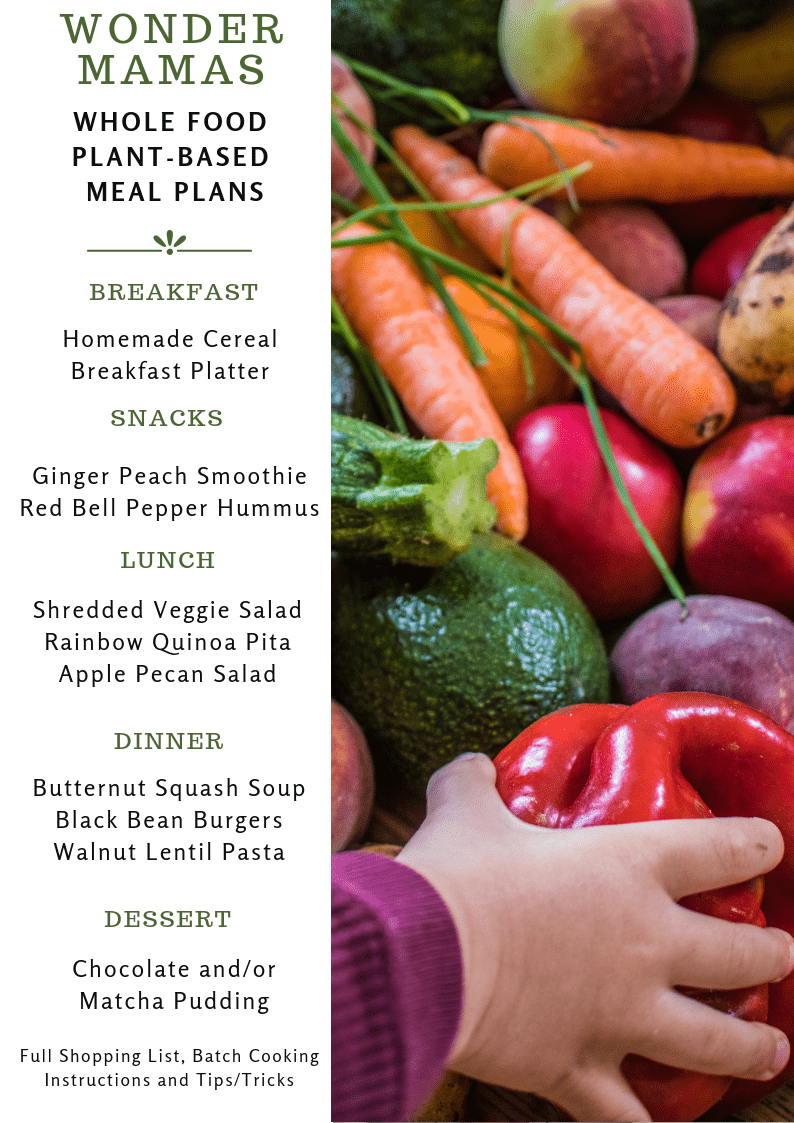 whole food plant based meal plans