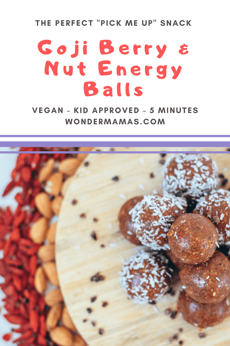 Vegan Goji Berry & Mixed Nut Energy Ball