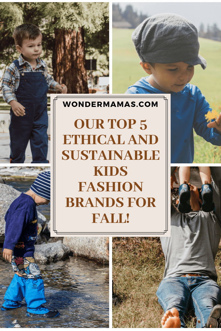 5 Sustainable Children's Brands
