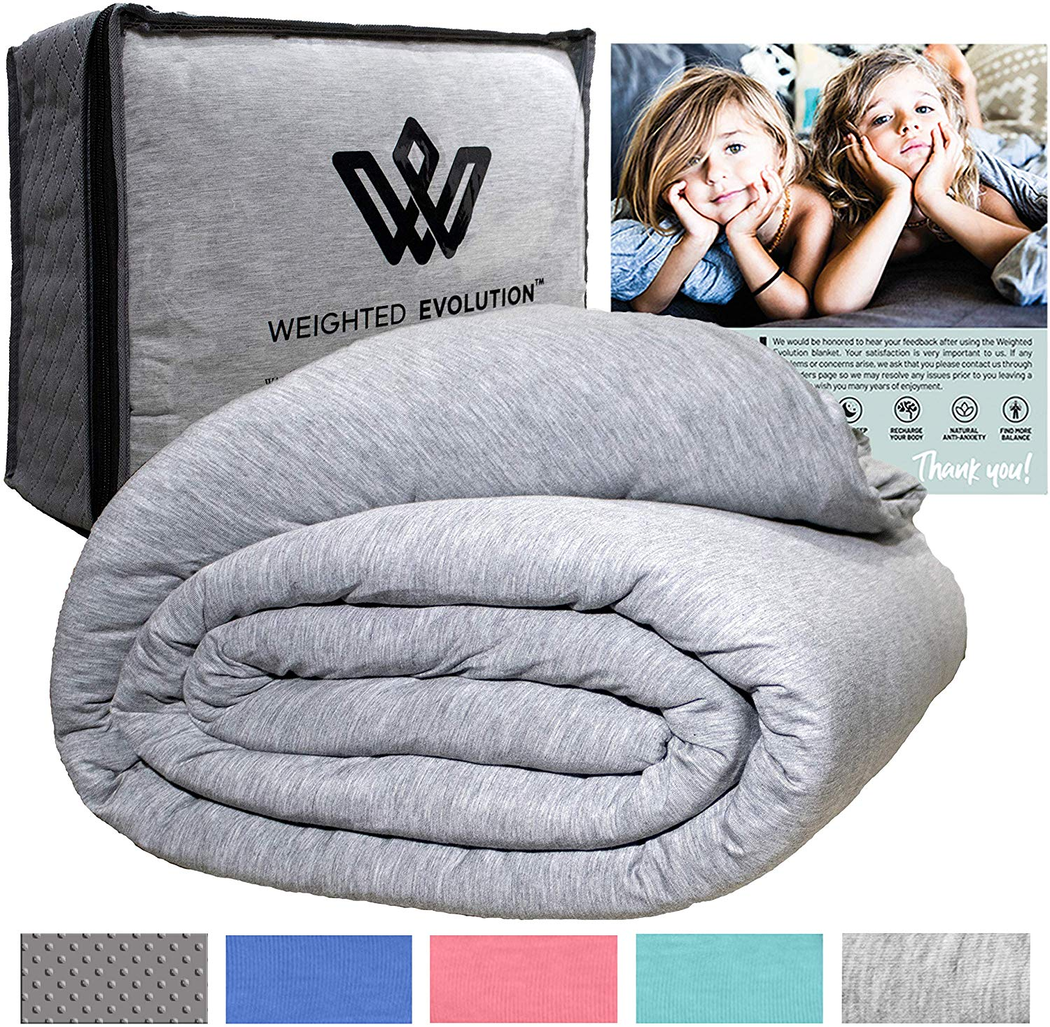 weighted blankets by weighted evolution
