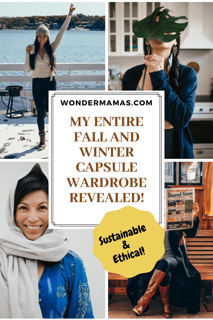 sustainable and ethical capsule wardrobe