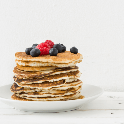 super simple vegan pancakes