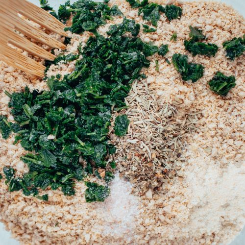 Vegan Herbed Parmesan Cheese