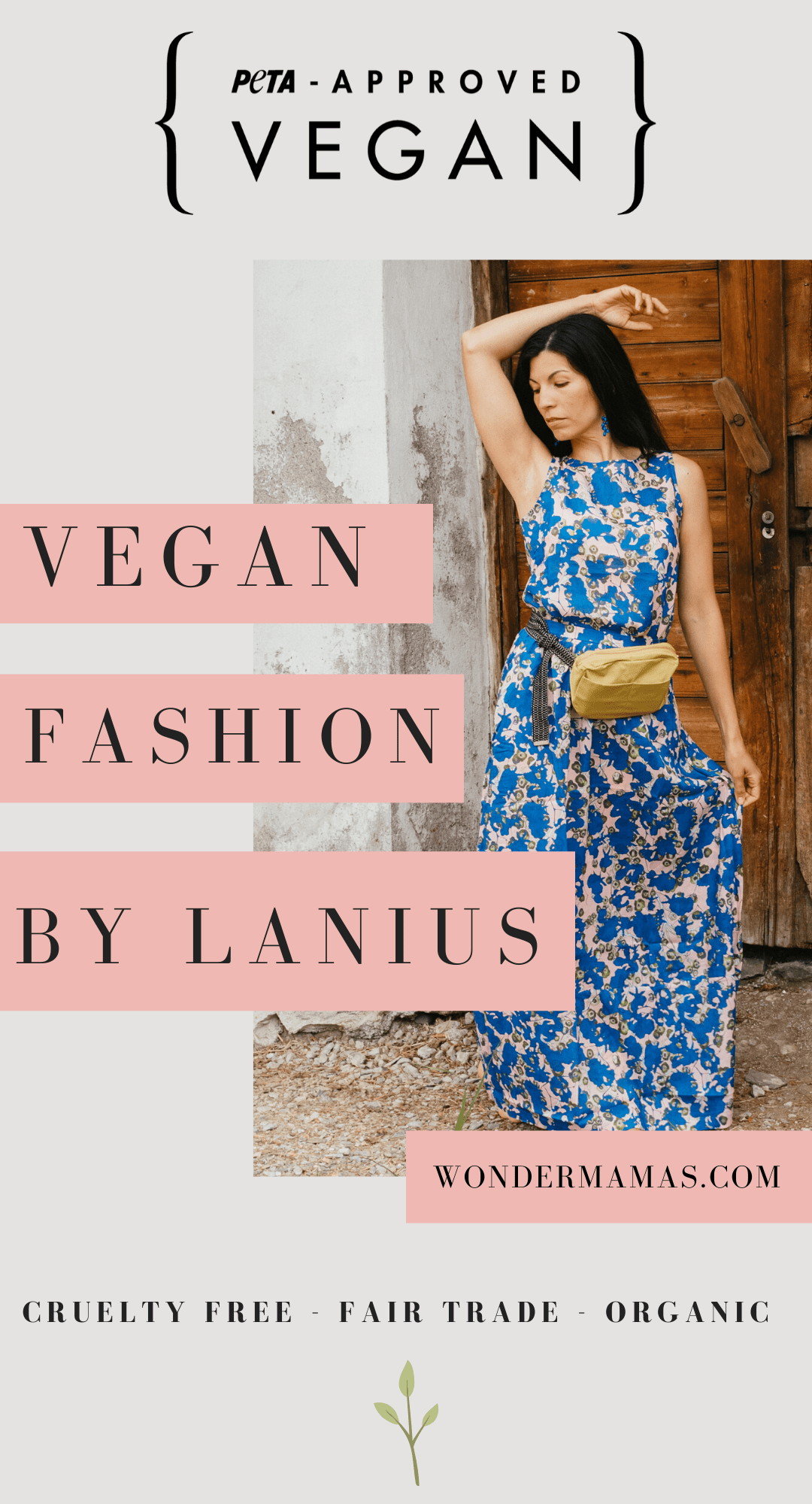 Vegan & Sustainable Fashion by Lanius