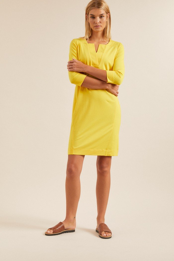 Soft Sheath Dress