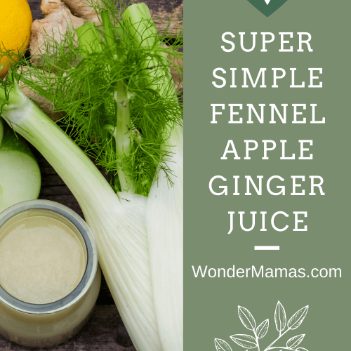 Fennel Apple Ginger Juice