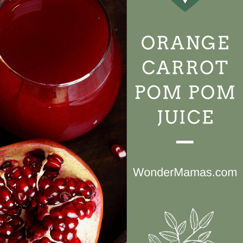 Pomegranate Orange Carrot Juice