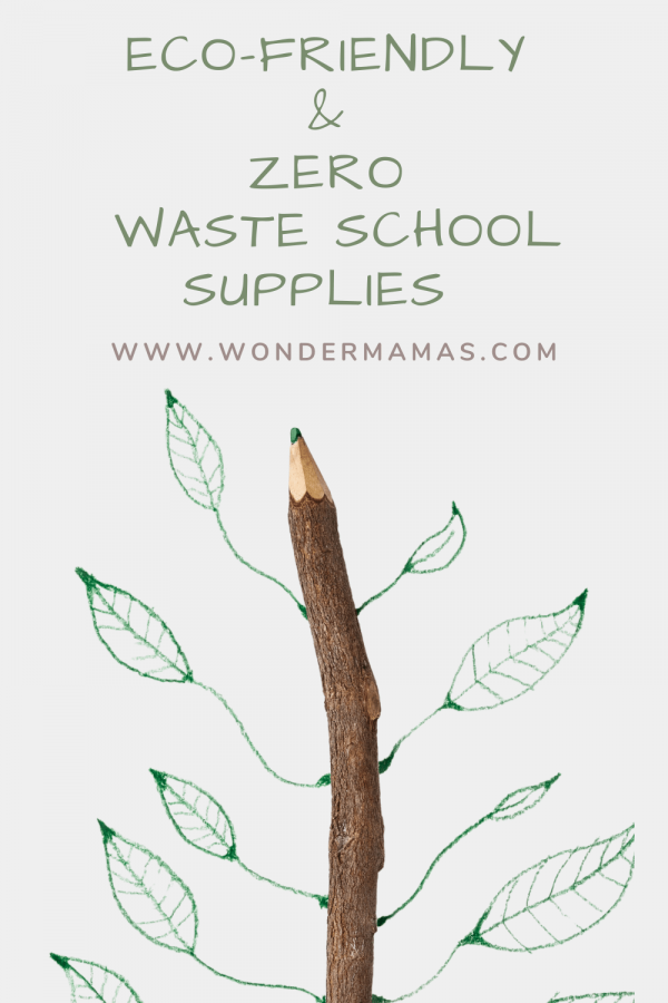 Eco Friendly & Zero Waste School Supplies