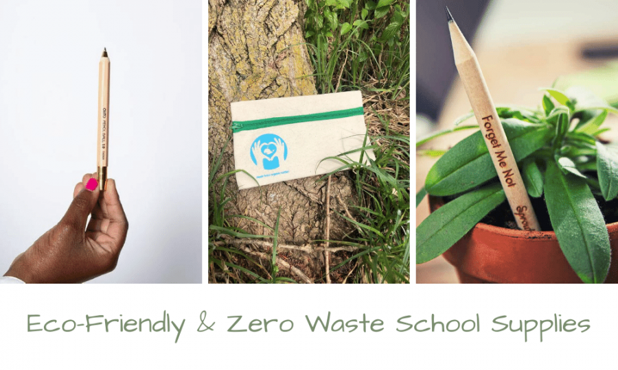 eco-friendly & zero waste school supplies